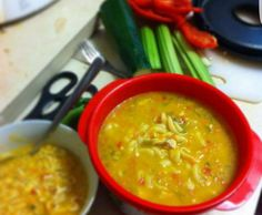Recipe Chicken noodle soup by pamela_oram, learn to make this recipe easily in your kitchen machine and discover other Thermomix recipes in Soups. Chicken Vegetable Noodle Soup, Chicken And Vegetables, Chicken Soup, Soup Recipes, Chicken Recipes, Recipe Chicken, Savoury Recipes, Vegetarian Recipes, Healthy Recipes