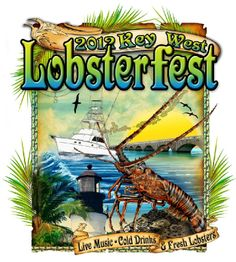 Key West Lobsterfest in October 2012. A great time to come experience all that is Key West.