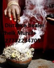 TRADITIONAL HEALER WITH DISTANCE HEALING POWERS +27732234705 2.       Bring back lost lover, even if lost for a long time 3.	Remove bad spells from homes, business  attraction etc.. 5.	Remove the black spot that keeps on taking your money  9. 	Stop your marriage or relationship from breaking apart  11.	We heal barrenness in women & and disturbing menstruation  12.	Get you marriage to the lover of your choice Tel: +27732234705 Email: sheikmuniil@gmail.com