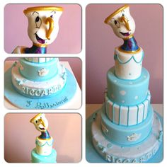#beautyandthebeast #chicco #cup #cake #disney www.lallabycakes.blogspot.it