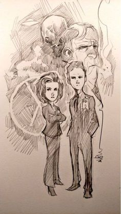 The X-Files by Dustin Nguyen *
