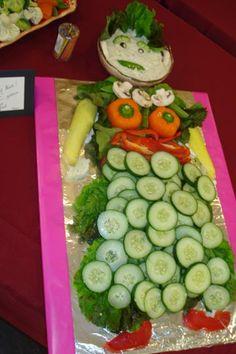 Grown up version of the veggie skeleton, made for a goddess art reception.