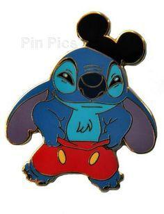 Disneyland Mickey Stitch Pin