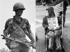 Our country forced them to war then mistreated and abandoned them when they returned. Unacceptable!