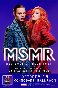 Contest! MS MR How Does it Feel Tour - October 19, 2015