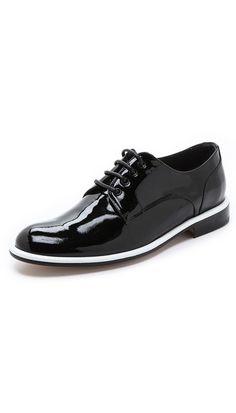Viktor & Rolf Lace-Up Oxford Shoes. $685.00. #fashion #men #shoes
