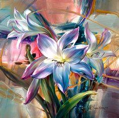 ¿Cómo pintar flores paso a paso?: Artistas que pintan flores   Pintar al óleo