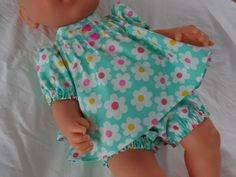 Dolls Clothes, Angel top & Panties to fit 43cm (17 inch) Baby Doll, Baby Born £7.50