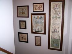 Adam and Eve Sampler Wall, I want one!!!!