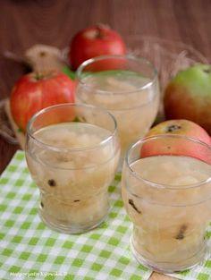 Domowy kisiel jabłkowy