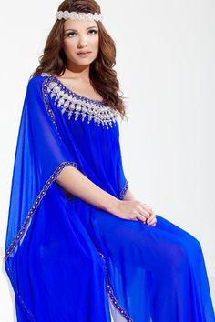 DUBAI VERY FANCY KAFTANS / abaya jalabiya Maxi Dress / Islamic Designer Kaftans   £118.23