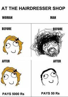Hair dresser shop