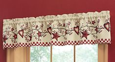 Great valance for any primitive or country decorated room