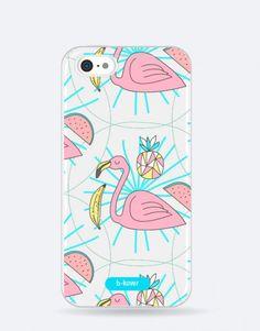 funda-movil-flamenco-minimal Pink, Phone Cases, Mobile Cases, Mermaids, Flamingo, Pink Hair, Roses, Phone Case
