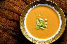 Sweet Potato Soup!  Yummmmmm.