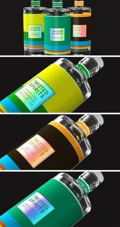 Twisted Spirits packaging by Lyon & Lyon