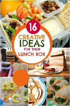 16 Creative Back to School Lunchbox Ideas