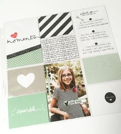 Moments Like These Project Life by Stampin' Up! page by Holly VanDyne @ hollystamps.com. #PLxSU #ProjectLife #StampinUp