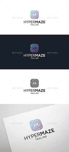 Hyper Maze Logo • Letter H - Template Vector EPS, AI Illustrator. Download here: https://graphicriver.net/item/hyper-maze-logo-letter-h/17341515?ref=ksioks