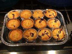 I added blueberries to mix. Cross between a cupcake and corn muffin. Not too sweet! Blueberry Trifle, Corn Muffins, Mothers Day Brunch, Blueberries, Cupcake, Breakfast, Sweet, Food, Morning Coffee