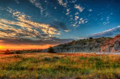 The park that bears his name. Photo of Theodore Roosevelt National Park in North Dakota by Gary Anderson, National Park Service.