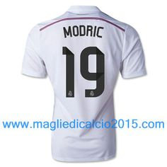 Real Madrid magliette da calcio 2014/2015 Modric 19-Local