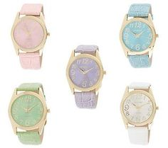 a watch for every outfit