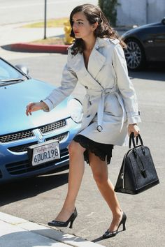 Camilla Belle and her LV Electric Epi Alma Bag @ Mosh Posh #MoshPosh