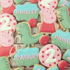 LC Sweets - This pig though... #lcsweets #customcookies #peppapig...