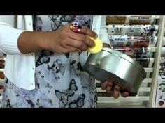 Video Tutorial - Decoupage on Aluminum Box - #aluminum, decoupage, tutorial, video