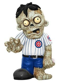 Chicago Cubs MLB Zombie Figurine Baseball  #ForeverCollectibles #ChicagoCubs
