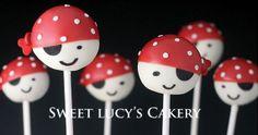 Pirate Cake Pop by Sweet Lucy's Cakery / Cincinnati