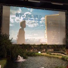 Nell'area #ExpoGreenLand si proietta il #film #intothewild . #agri2016  è anche #cinema!