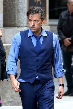 Ben Affleck as 'Bruce Wayne' on the set of 'Batman vs Superman: Dawn Of Justice' (2016)