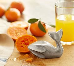 I love me some whales.  And I love me some orange juice.  So THIS is a must!  Two words - whale juicer.  Pottery Barn.