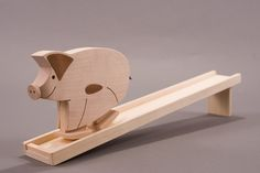 A huge hit for city and farm kids – Comes with little leather tail that wags as he walks.
