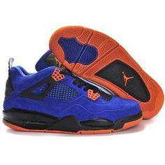 new arrival 4dc19 521e9 Buy 2014 Nike Air Jordan 4 IV Retro New Release Shoes Blue Orange Copuon  Code from Reliable 2014 Nike Air Jordan 4 IV Retro New Release Shoes Blue  Orange ...