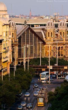 Budapest - Nagykörúti Naplemente  Nyugati Pályaudvar