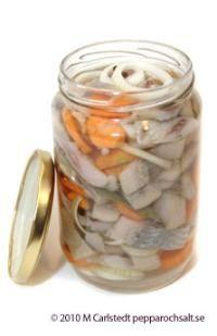 Pickled herring - Herring Recipe