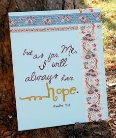 Psalm Bible Verse Canvas Art