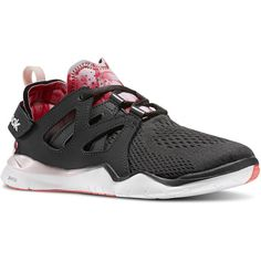 Reebok ZCut TR 2.0 WOW (2.022.975 VND) ❤ liked on Polyvore featuring shoes, athletic shoes, traction shoes, hooks shoes, velcro strap shoes, mesh shoes and reebok athletic shoes