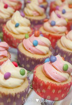 Speels & Smakelijk: Smartie cupcakes