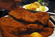 typische gerechten zwitserland -  schnitzel