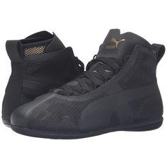 Comfortable Puma Eskiva Hi Evo Trainers Womens Black/Gold Online Shopping