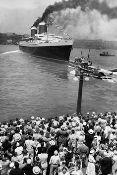 In the 1950s and '60s, the ship was a marvel of technology and elegance, offering regular passenger service between New York and Europe.