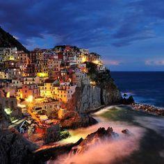 #CinqueTerre #Italia #Unpostobellissimo #Mare #Casecolorate #Sogno