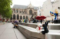 4/13今日のリサとガスパール http://parismag.jp/ #ストラヴィンスキー広場 #PlaceIgorStravinsky #ポンピドゥーセンター #PompidouCentre #ジャンティンゲリー #ニキドサンファル #PARISmag #パリマグ #paris #パリ #France #フランス #パリの住人 #リサとガスパール #GaspardetLisa