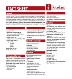 fact sheet templates microsoft word