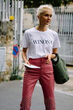 Street Style Paris Fashion Week Primavera Verano 2017 | Galería de fotos 17 de 128 | VOGUE