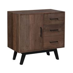 This retro cabinet would make a great place for a vintage turntable to crank out some Jim Morrison tunes!